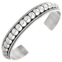 Navajo Sterling Silver Bracelet 32125