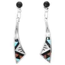 Zuni Turquoise Drop Earrings 32138