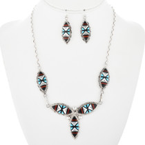 Zuni Sterling Silver Necklace 32142