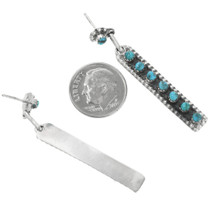 Zuni Turquoise Post Earrings