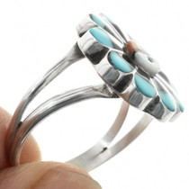 Native American Turquoise Inlay Ring 32149