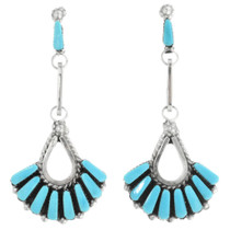 Native American Turquoise Earrings 32150