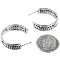 Native American Silver Earrings 32161