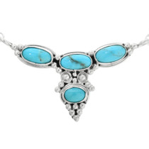 Native American Turquoise Necklace 32176