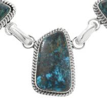 Southwest Blue Turquoise Necklace 32179