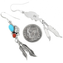 Native American Feather Earrings 32183