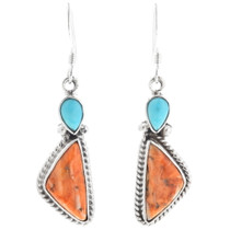 Spiny Oyster Dangle Earrings 32186