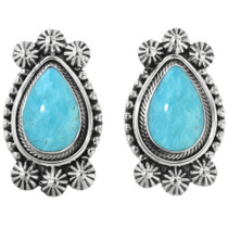 Western Turquoise Earrings 32195