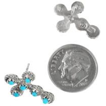 Zuni Turquoise Post Earrings 26407