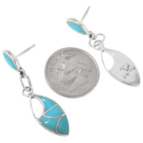 Zuni Turquoise Post Earrings 32212