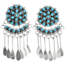 Native American Turquoise Earrings 32216