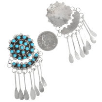Zuni Turquoise Earrings 32216