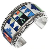 Vintage Lapis Cuff Bracelet 32218