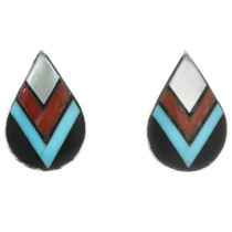 Southwest Turquoise Post Earrings 32219