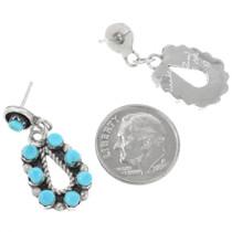 Zuni Made Sterling Silver Earrings 32220