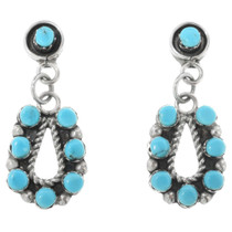 Native American Turquoise Earrings 32220