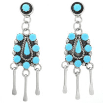 Native American Turquoise Earrings 32226