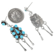 Turquoise Western Dangle Earrings 32226