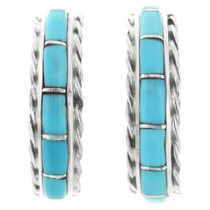 Zuni Turquoise Earrings 32231