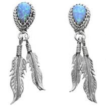 Opal Feather Earrings 32233