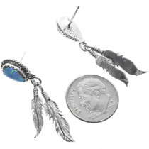Native American Opal Earrings 32233