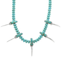 Blue Green Turquoise Necklace 32250