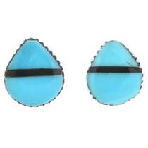 Turquoise Zuni Earrings 32253