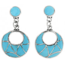 Turquoise Dangle Earrings 32254