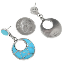 Zuni Turquoise Earrings 32254