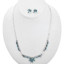 Zuni Turquoise Necklace Set 32255