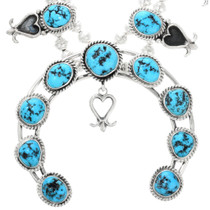 Kingman Turquoise Navajo Necklace 32267