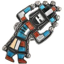 Vintage Zuni Rainbow Man Ring 32298