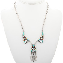 Zuni Inlaid Y Necklace 32302