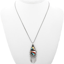 Inlaid Native American Pendant 32303