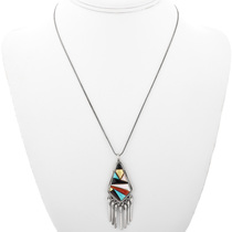 Inlaid Native American Pendant 32303