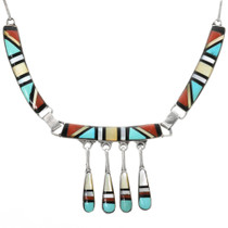 Native American Turquoise Necklace 32324