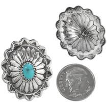 Navajo Turquoise Earrings 32365