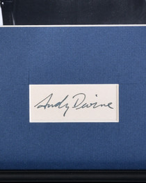 Framed Andy Devine Photo with Authenticated Autograph 32391