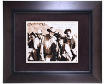 Framed Autographed Gunsmoke Cast Photo 32392