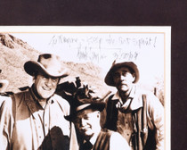 Autographed Doc and Festus Gunsmoke Photo 32392
