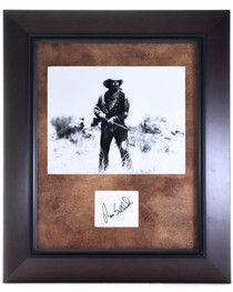 Vintage Framed Tom Selleck Autograph 32393
