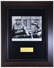 Vintage Framed Chill Wills Autograph 32396