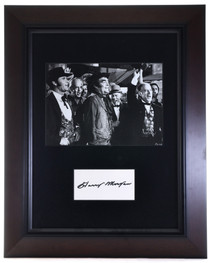 Vintage Framed Harry Morgan Autograph 32399