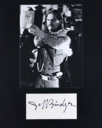 Authentic Jeff Bridges Autograph 32400