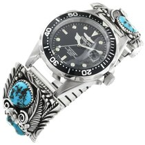 Old Pawn Turquoise Mens Watch 32430