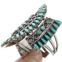 Native American Turquoise Cluster Bracelet 32419