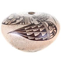 Pueblo Parrot Design Seed Pot 32424