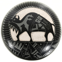 Vintage Etched Pueblo Pottery 32431