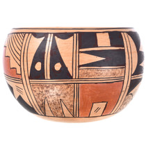 Hopi Tribe Pottery with Rain Cloud Patterns 32435