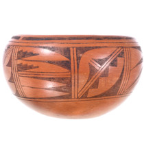 Hopi Tribe Pottery with Clouds Plant Patterns 32439